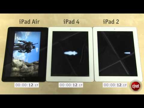 Test iPad Air vs iPad 4 vs iPad 2
