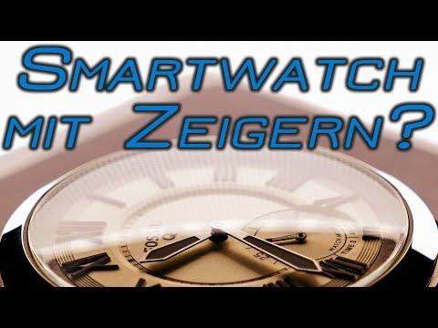 Fossil Smartwatch Q Grant - Hybrid Smartwatch Review   Deutsch   2018