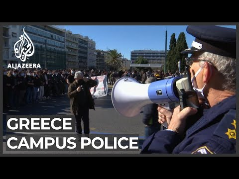 'We're afraid': Greek plan to police universities panics students