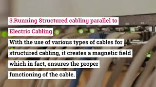 What Common Mistakes Should Avoid During Structured Cabling Installation?
