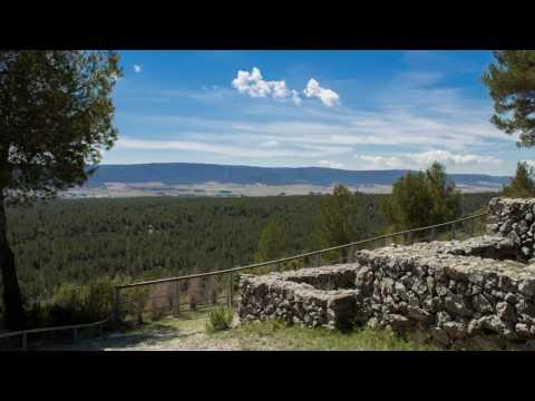 Fontanars dels Alforins-Moixent-Montesa-Xàtiva - Video Timelapse Comunitat Valenciana