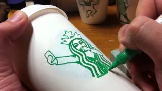 這個冬季星巴克女神好忙 杯子上大玩變裝秀!
