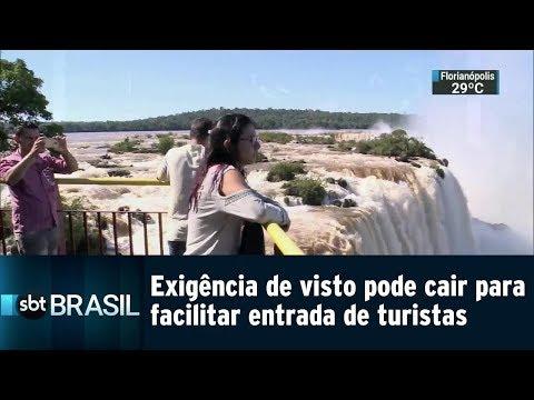 Exigência de visto pode cair para turistas estranjeiros