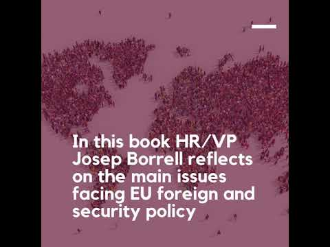 'European foreign policy in times of COVID-19' - HR/VP Josep Borrell's new book