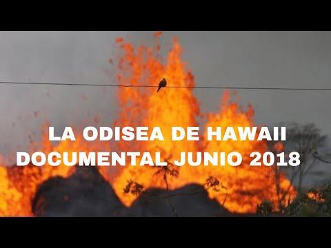 Documental de la odisea que viven los hawaianos por la erupcion del volcan kilauea june 2018
