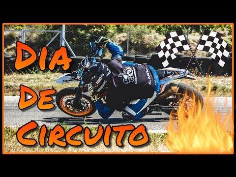 Día de CIRCUITO || *¿Toco CODO?* || Rodada en el circuito de MORA D'EBRE || KTM SMCR690