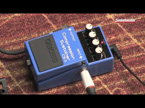BOSS CS-3 Compression Sustainer Pedal Review by Sweetwater
