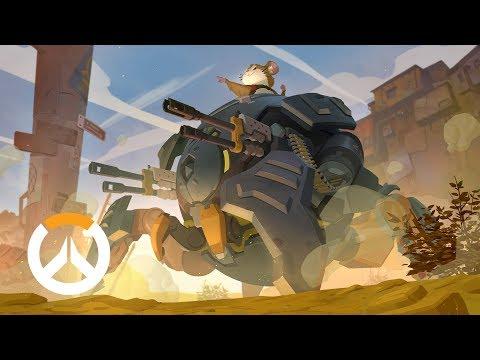 《鬥陣特攻》出生來歷-火爆鋼球 倉鼠哈蒙德