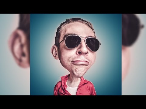 caricature using adobe photoshop tutorials by benny qibal