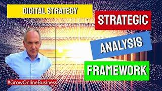 Digital Strategy: Strategic Business Management: Frameworks for Strategic Analysis