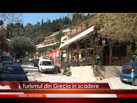 Turismul din Grecia în scadere