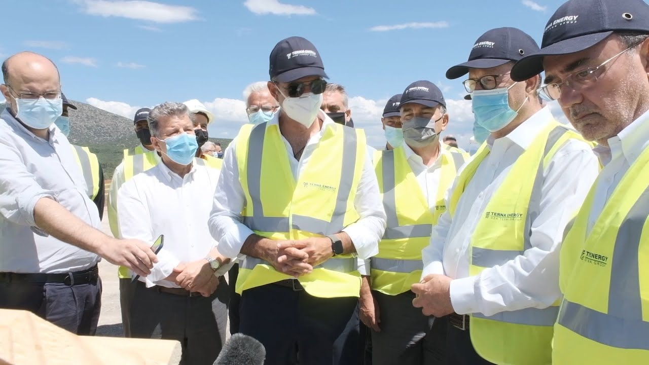 Eπίσκεψη του Πρωθυπουργού στο έργο ΣΔΙΤ διαχείρισης απορριμμάτων στην Αρκαδία