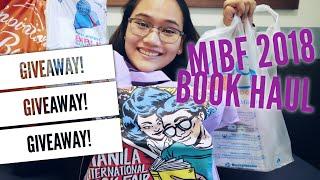 MIBF 2018 - Mega Book Haul + GIVEAWAY! - Manila International Book Fair