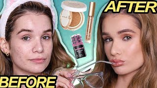 Back to School DRUGSTORE MAKEUP Tutorial | (EASY + NATURAL)
