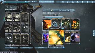 Warframe *12.2 / Braton Prime 5 Formas configuracion + gameplay