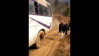 preview picture of video 'Public Bus in Ratanchha'