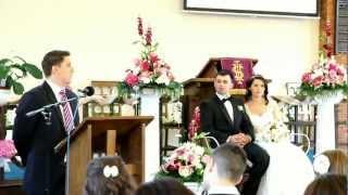 preview picture of video 'Tiberiu Pop - Casatoria in Domnul, Predica la Biserica Baptista din West Hendon Londra'