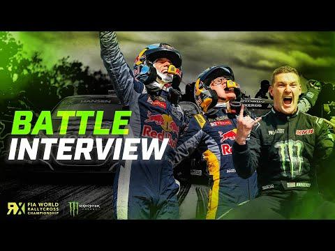 Bakkerud and Hansens Championship Battle Interview