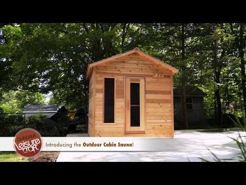 Dundalk Sauna de barril exterior