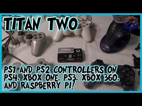 PS1 and PS2 controllers on PS4, Xbox One, Nintendo Switch and more | Titan Two Tutorial