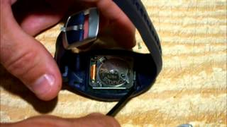 How To Replace Battery In Polar FS1 Heart Rate Monitor Watch