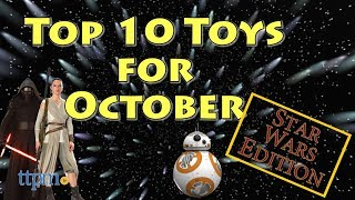 Top 10 Toys in October 2017