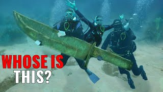 11 Most BIZARRE Discoveries Made By Divers!