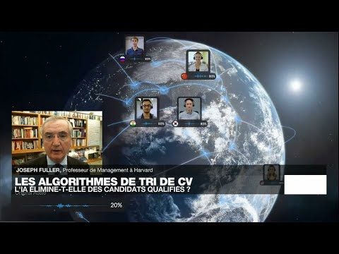 "Revolution RH 4.0: l'automatisation des ressources ""humaines"" • FRANCE 24"