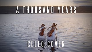 A Thousand Years - Fakeley Sisters Cello Cover [OFFICIAL MUSIC VIDEO]