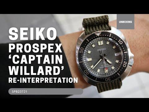 Seiko Prospex 'Captain Willard' Re-Interpretation SPB237J1