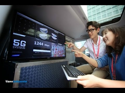 Video Teknologi 5G bisa download 1Gb per detik