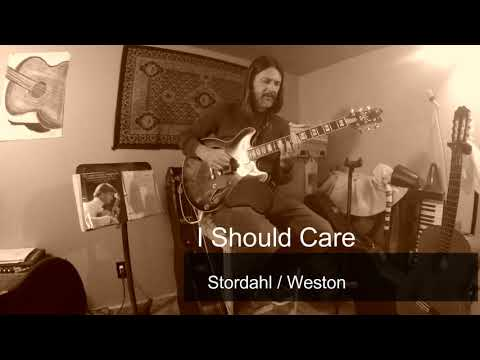 """My Solo Jazz guitar reharmonization and arrangement of the standard """"I should Care"""""""