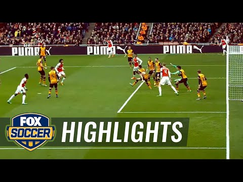 Arsenal vs. Hull City   2015-16 FA Cup Highlights