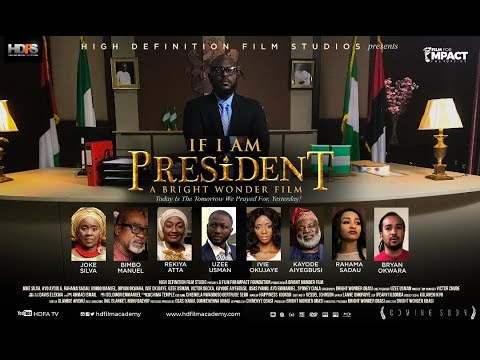 Watch Joke Silva and Ayo Ayoola in 'If I am President'