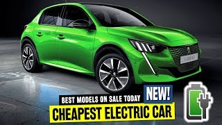 10 Affordable Electric Cars that Want to Outsell $35,000 Tesla Model 3