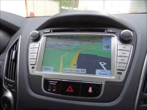 Hyundai ix35 Multimedia Navigation System DVD GPS USB BT SD IPOD