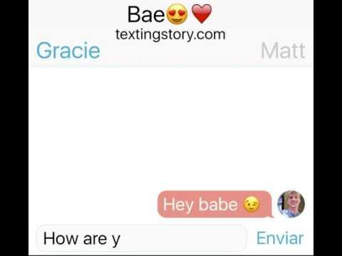 MattyB texts GRACIE HASCHAK (went wrong)