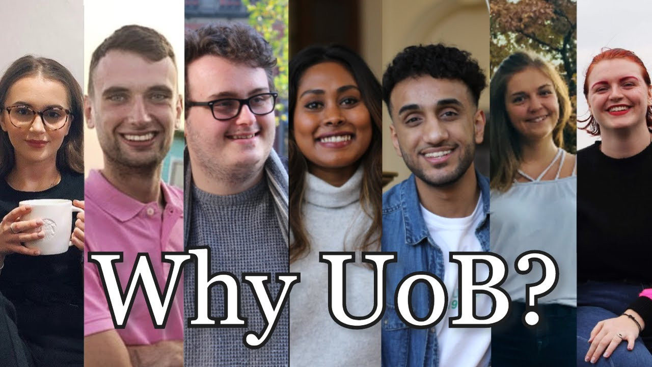 Why our students chose to study at Birmingham