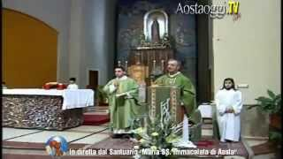 preview picture of video 'Parrocchia Santuario Maria Immacolata di Aosta Santa Messa in Diretta Video 1/02/2015'