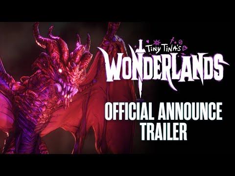Bande-annonce de lancement officielle de Tiny Tina's Wonderlands