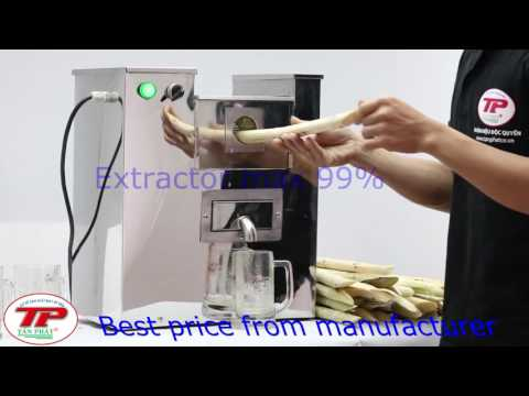 Hot Sale 10% From Factory For Model PT-866 Sugarcane Juice Machine