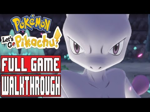 POKEMON LET'S GO PIKACHU Full Game Walkthrough - No Commentary (Nintendo Switch)