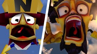 Crash Bandicoot N. Sane Trilogy - All Intros Comparison (PS4 vs Original)