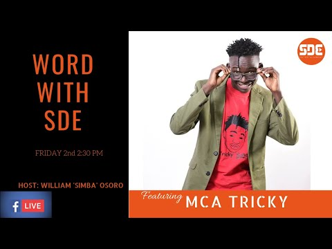 #WordWithSDE featuring MCA Tricky