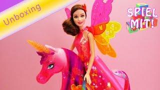 Pinkes Glitzer Feen Einhorn   Barbie und die geheime Tür   Prinzessin Alexas Gefährtin   Review