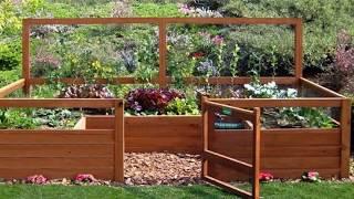 Small Vegetable Garden Layout Examples - Small Backyard Vegetable Garden Design Ideas