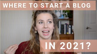 The BEST Platform for Beginners to Start a Blog in 2021