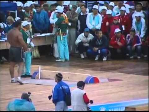 Мас-рестлинг Абсолютный Чемпионат России 2009 (Часть 2)
