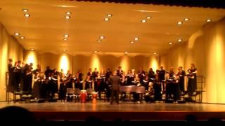 As Joseph Was A Walking - VRHS Christmas Choir Concert 2012