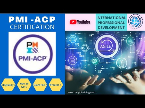 PMI-ACP Certification, An Overview - YouTube